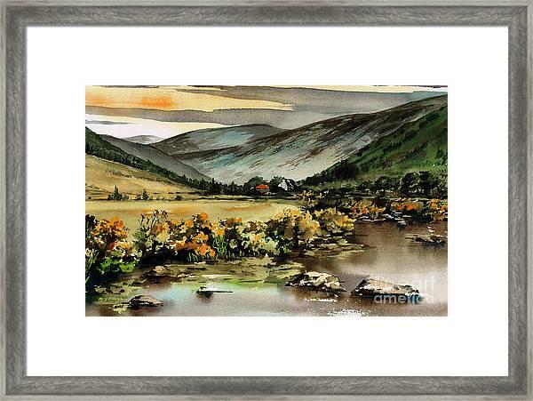 Glenmalure  Valley Framed Print