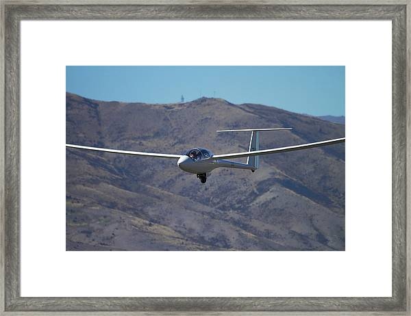 Glider, Warbirds Over Wanaka, Wanaka Framed Print