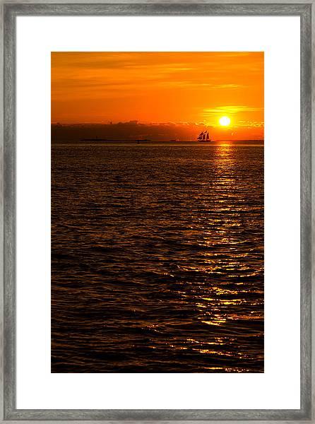 Glimmer Framed Print