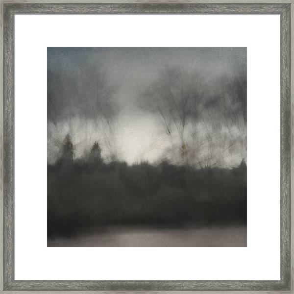 Glimpse Of The Willamette Framed Print