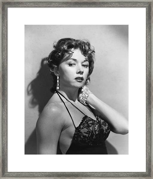 Gloria Grahame Framed Print by Silver Screen