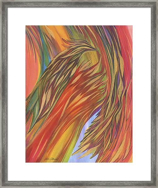 Glorious Breakthrough Framed Print