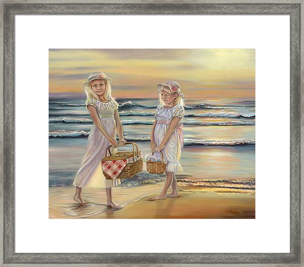 Glow At Days End Framed Print