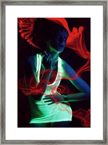 Glow Framed Print by Vojislav Markovic