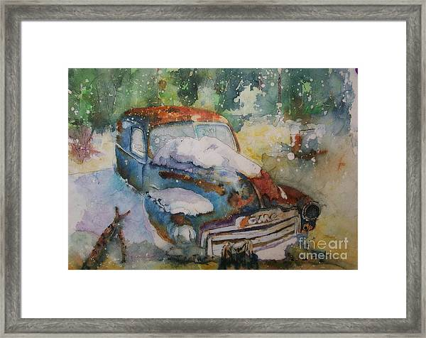 Gmc Lost Not Forgotten Framed Print