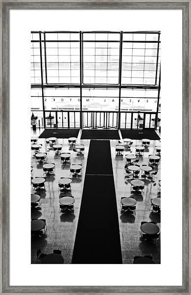 Gm's Wintergardens Framed Print