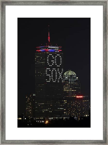 Go Boston Red Sox Framed Print