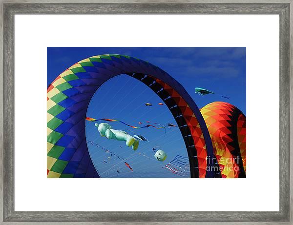 Go Fly A Kite 2 Framed Print