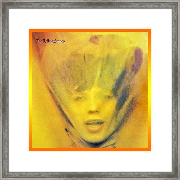 Goats Head Soup Album Framed Print