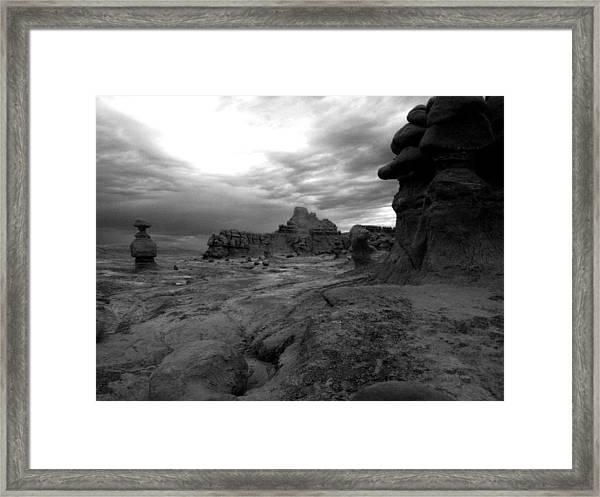 Goblin Depth Framed Print