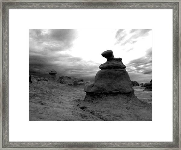 Goblin Formation Framed Print