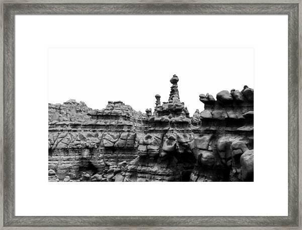 Goblin Tower Framed Print