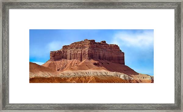 Goblin Valley Pano 2 Framed Print