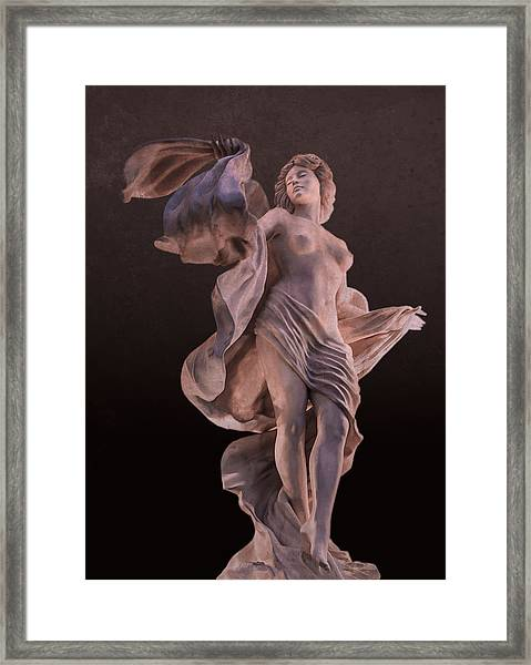 Goddess Of Seduction Framed Print