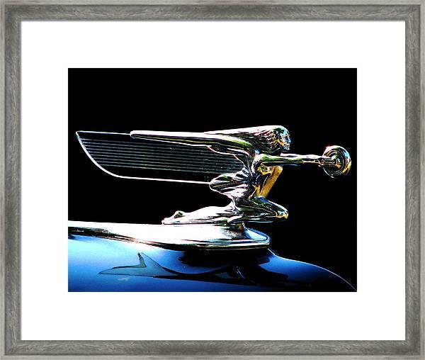 Goddess Of Speed Framed Print