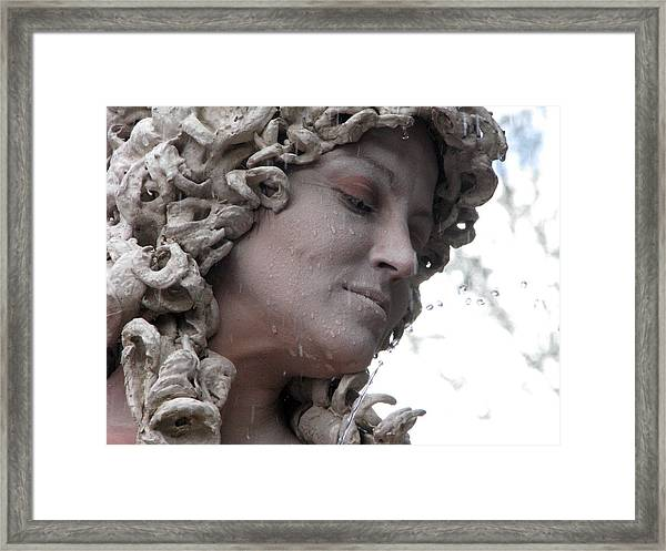 Goddess Of Stone Framed Print