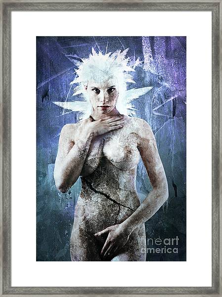 Goddess Of Water Framed Print