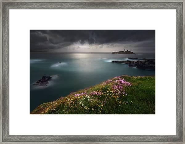 Godrevy Point... Framed Print