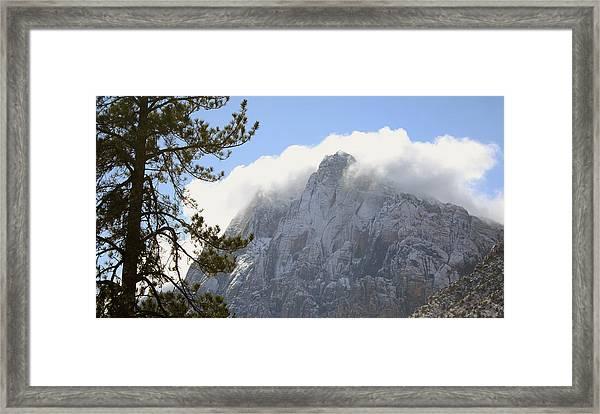 God's Mantel Framed Print