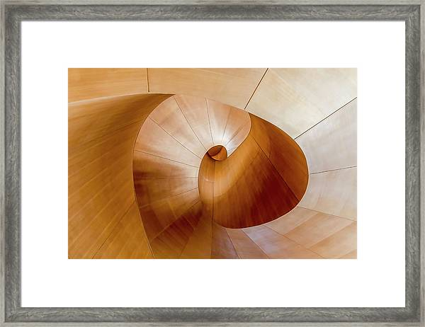 Goes Around Comes Around Framed Print by Fahad Abdualhameid