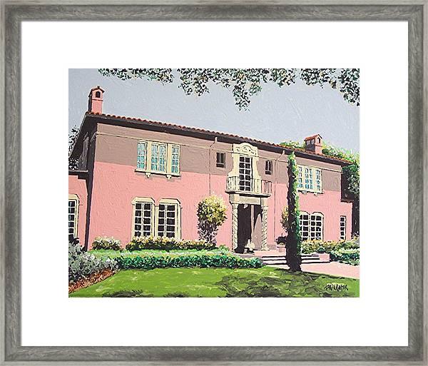Goethe House Framed Print by Paul Guyer