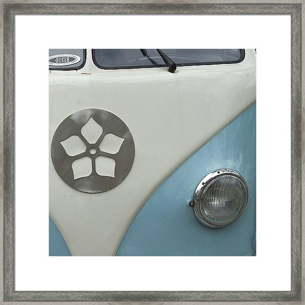 Going #abstract If Only A Little  #vw Framed Print