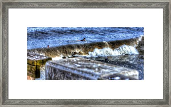 Going Going Gone Framed Print