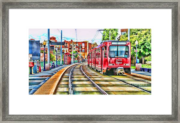 Going To Gillespie Field By Diana Sainz Framed Print