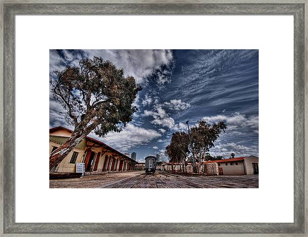 Going To Jerusalem Framed Print