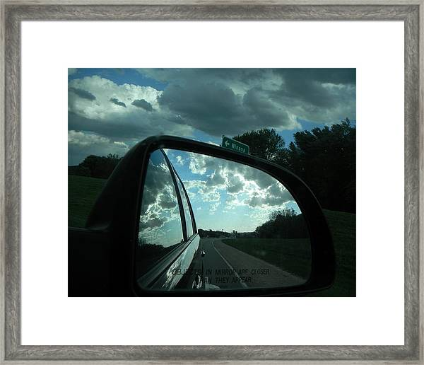 Going To Winona Framed Print