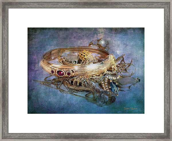 Gold Treasure Framed Print