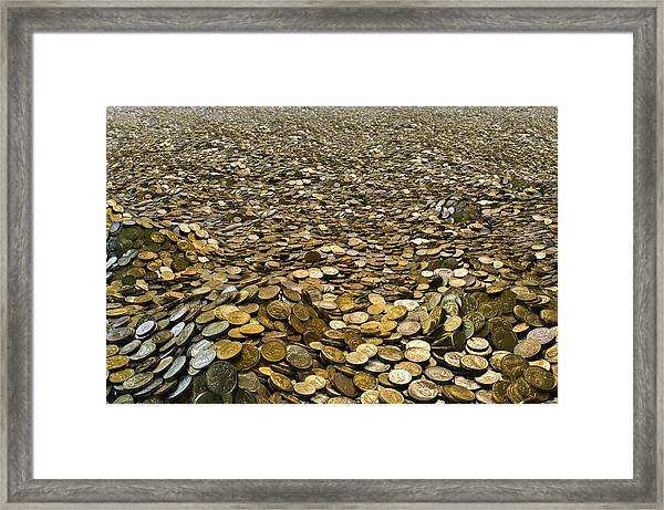 Goldcountry2 Framed Print by H-Gall