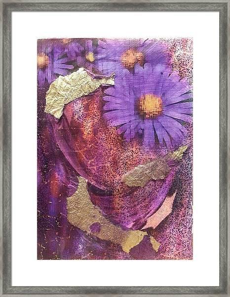 Golden Daisy Framed Print