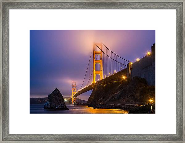 Golden Gate Beauty Framed Print