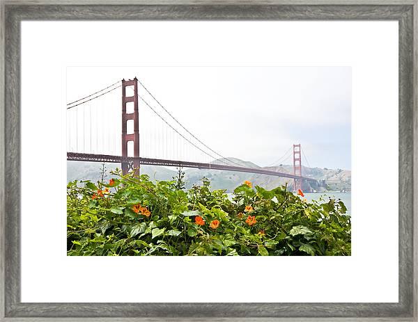 Golden Gate Bridge 2 Framed Print