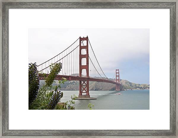 Golden Gate Bridge 3 Framed Print