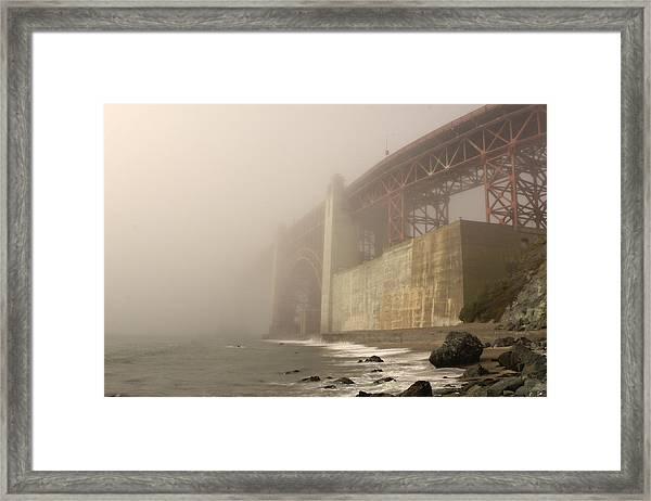 Golden Gate Superfog Framed Print