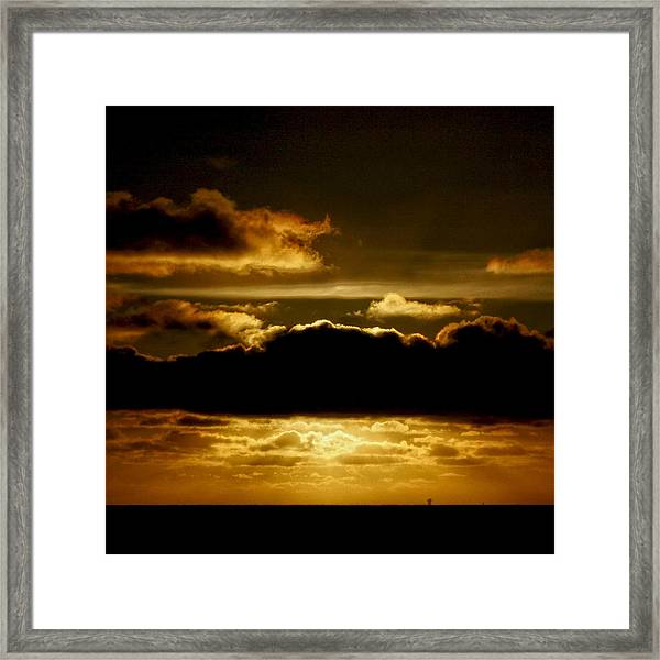 Golden Hour Framed Print