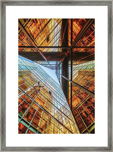 Golden Triangle Framed Print