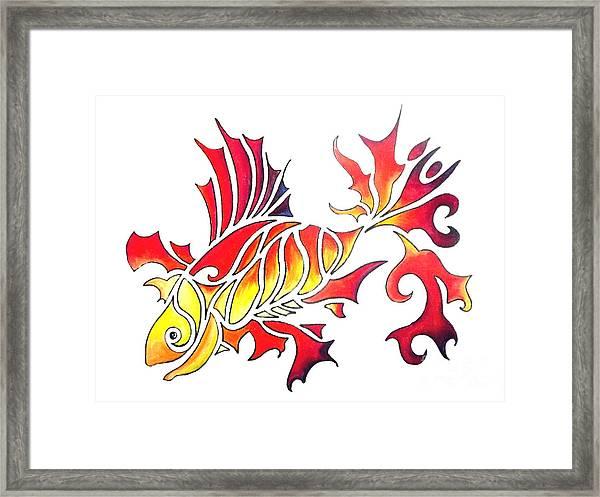Goldfish 1 Framed Print