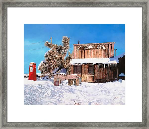 Goldpoint-nevada Framed Print