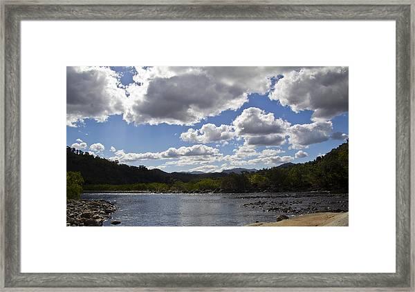 Goldsborough Valley Framed Print by Debbie Cundy