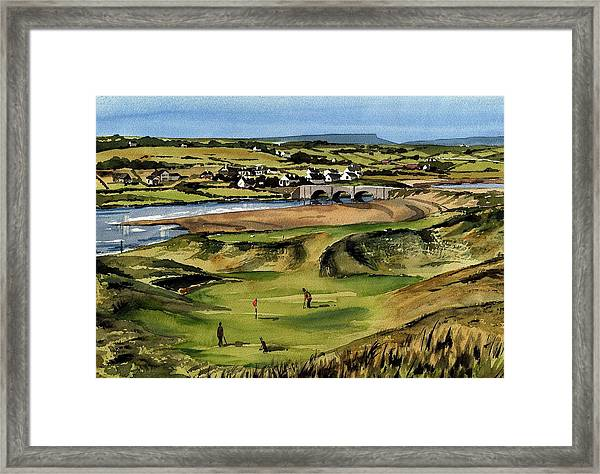 Clare  Golf At Lahinch Gc Framed Print