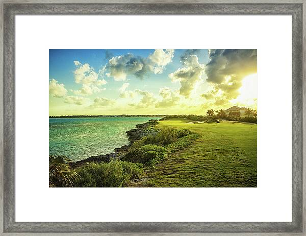 Golf Course Framed Print