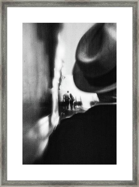 Gone Are The Days Framed Print
