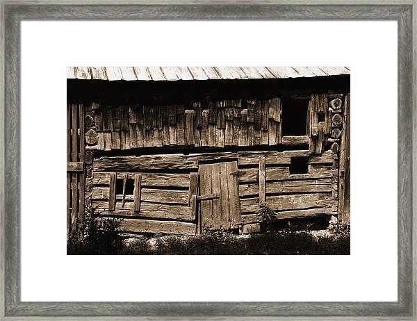 Gone But Not Forgotten Framed Print by Heather Kenward