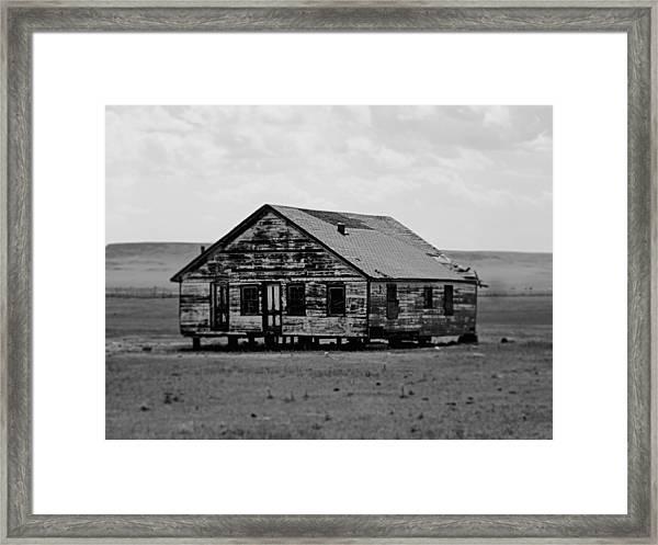 Gone. Framed Print