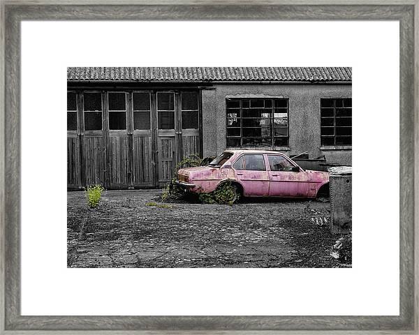 Good Little Runner Framed Print