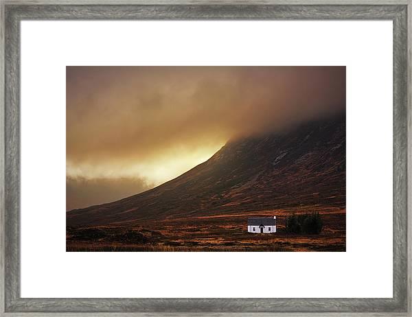 Good Morning Glencoe Framed Print