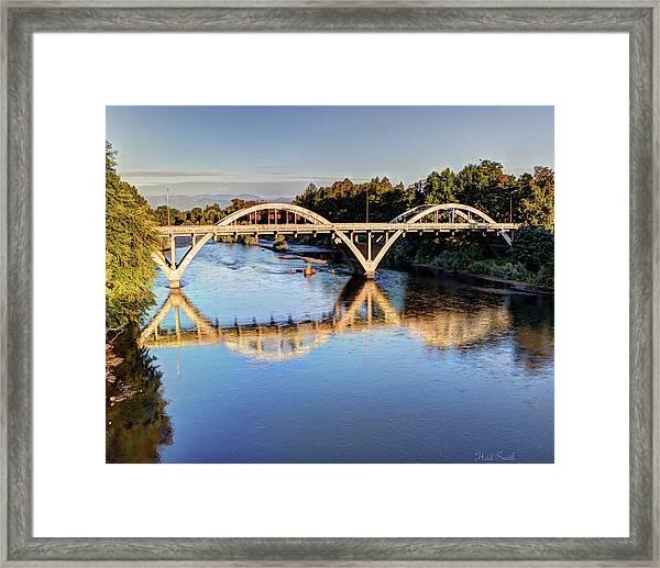 Good Morning Grants Pass II Framed Print